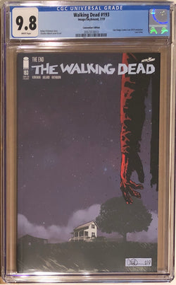The Walking Dead #193 SDCC Variant CGC 9.8 - Final Issue!
