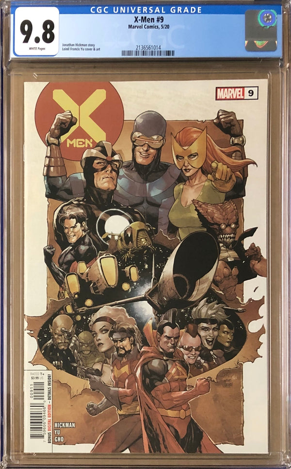 X-Men #9 CGC 9.8 - Dawn of X!
