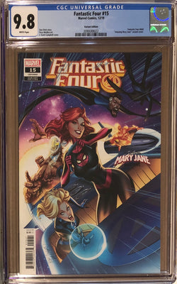 "Fantastic Four #15 Campbell ""Mary Jane"" Variant CGC 9.8"