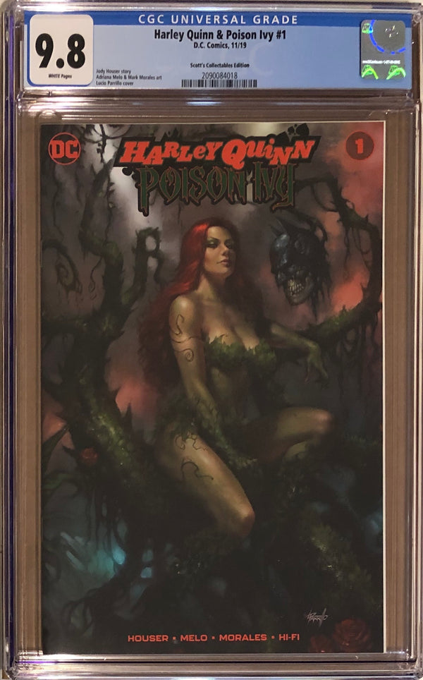 Harley Quinn & Poison Ivy #1 Parrillo NYCC Exclusive CGC 9.8