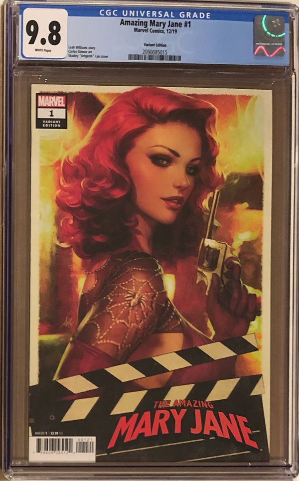 Amazing Mary Jane #1 Artgerm Variant CGC 9.8