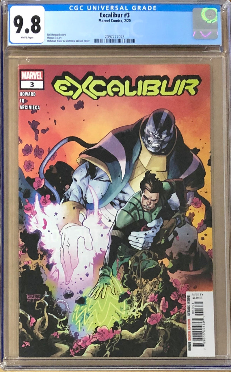 Excalibur #3 CGC 9.8 - Dawn of X!
