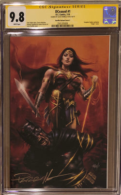 DCeased #1 Parrillo Convention Virgin Exclusive CGC 9.8 SS