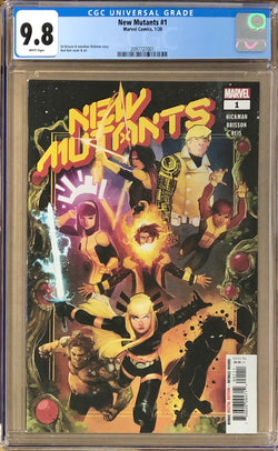 New Mutants #1 CGC 9.8 - Dawn of X!