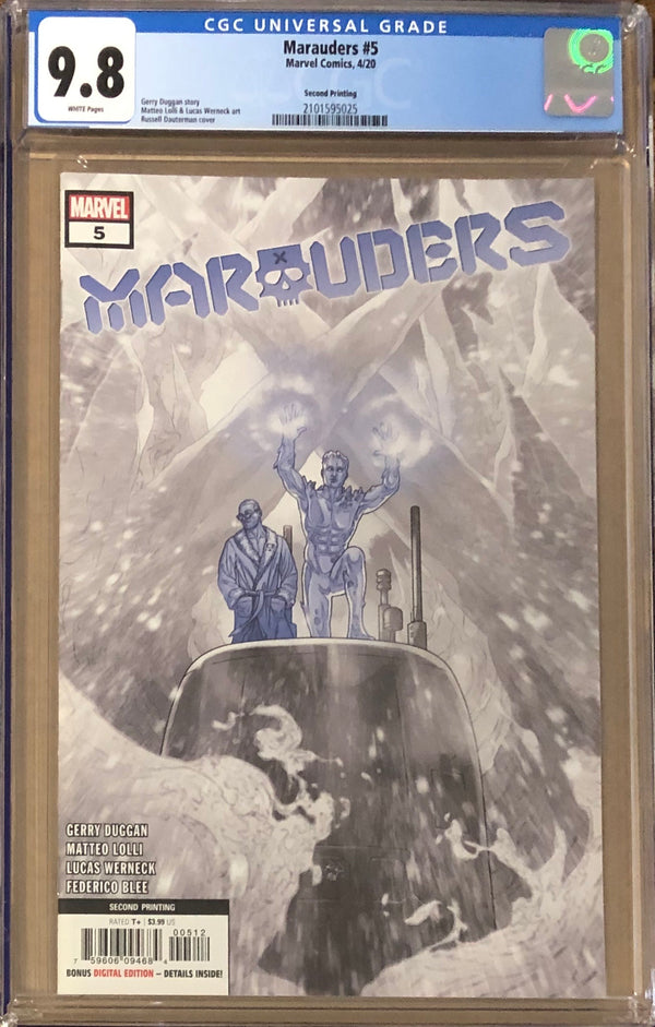 Marauders #5 Second Printing CGC 9.8 - Dawn of X!