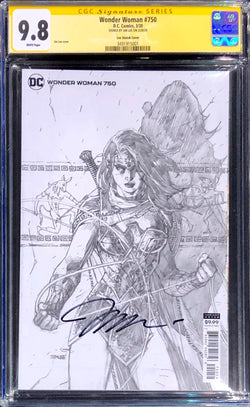 Wonder Woman #750 Jim Lee 1:100 Retailer Incentive Variant CGC 9.8 SS