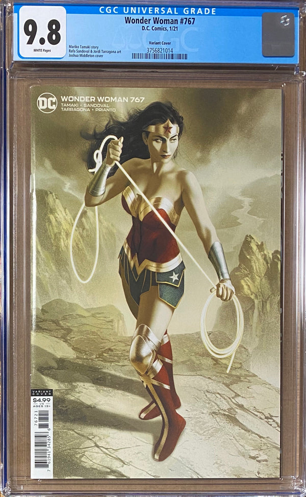 Wonder Woman #767 Middleton Variant CGC 9.8
