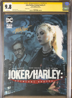 Joker/Harley: Criminal Sanity #1 Mayhew Variant Cover DC Black Label CGC 9.8 SS