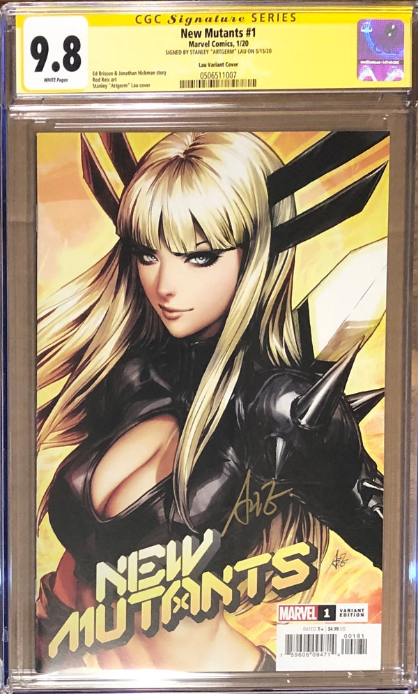 New Mutants #1 Artgerm Variant CGC 9.8 SS - Dawn of X!