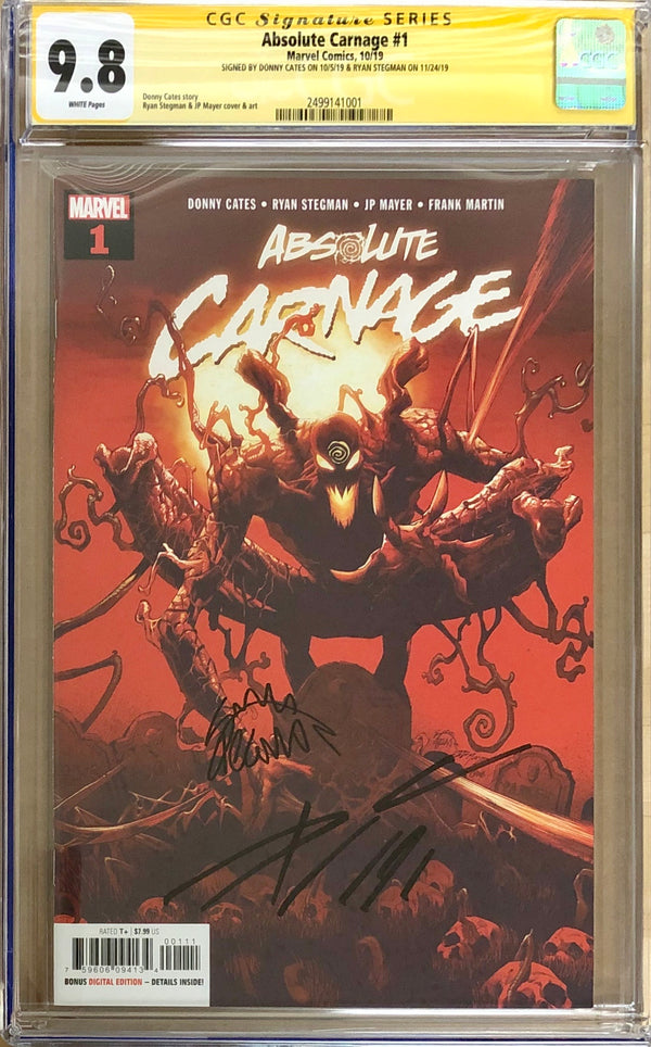 Absolute Carnage #1 CGC 9.8 SS