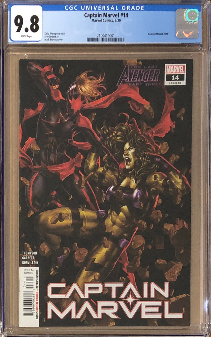 Captain Marvel #14 CGC 9.8