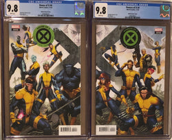 House of X #4 & Powers of X #4 Molina Connecting Variant Set CGC 9.8