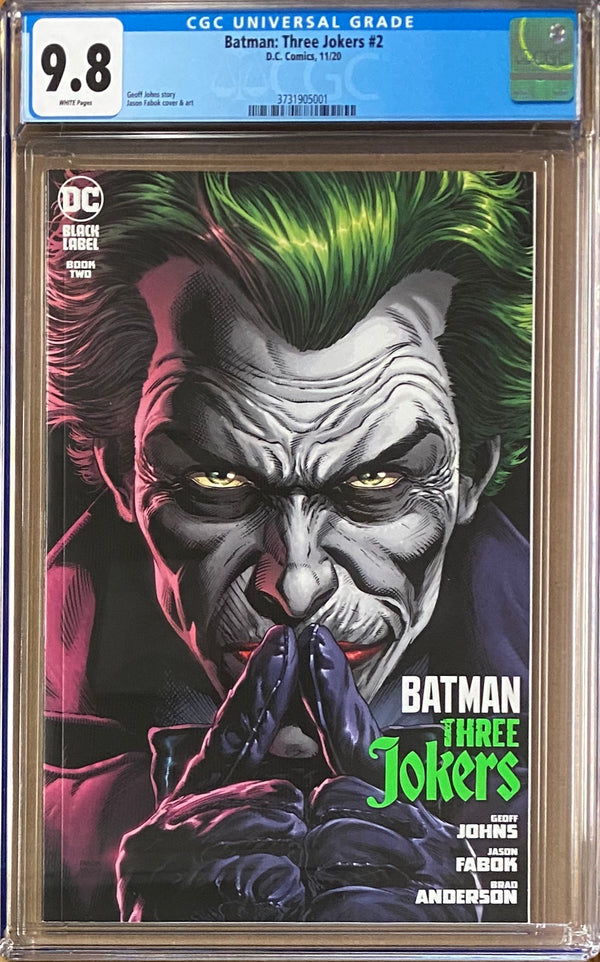 Batman: Three Jokers #2 DC Black Label CGC 9.8