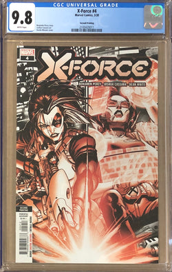 X-Force #4 Second Printing CGC 9.8 - Dawn of X!