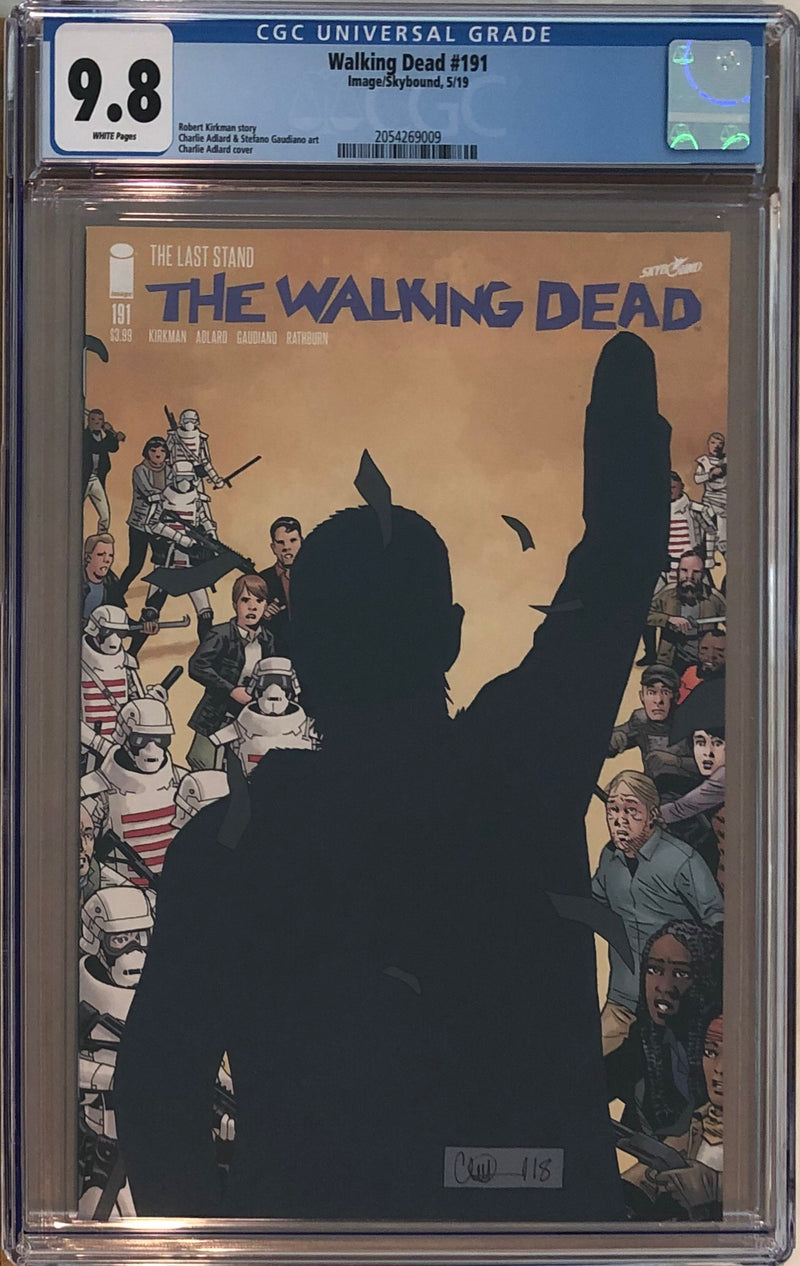 The Walking Dead #191 CGC 9.8