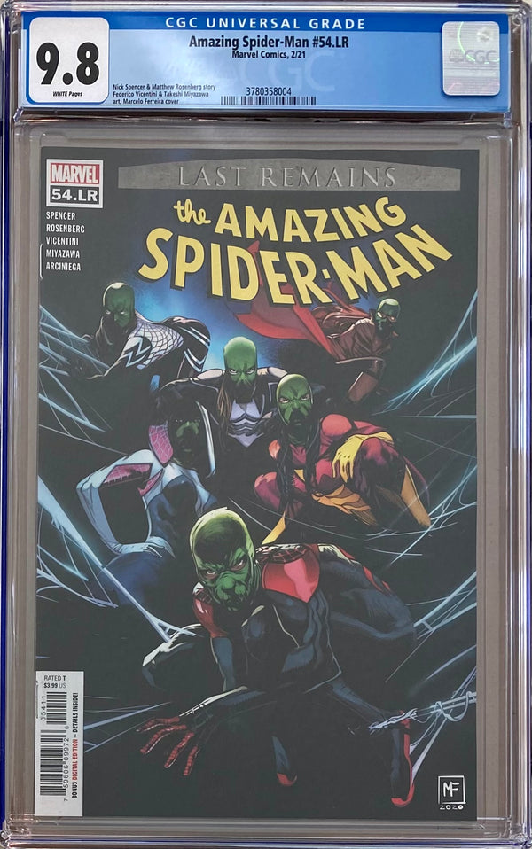 Amazing Spider-Man #54.LR CGC 9.8