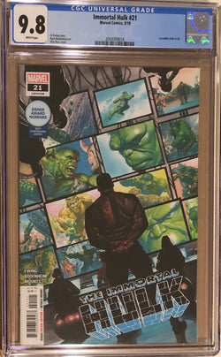 Immortal Hulk #21 CGC 9.8