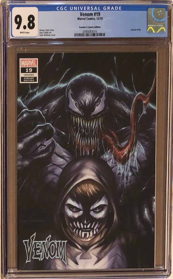 Venom #19 Tyler Kirkham BeachBum Comics Exclusive CGC 9.8
