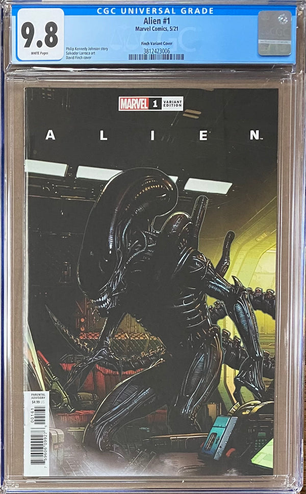 "Alien #1 Finch ""Launch"" Variant CGC 9.8"