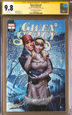 "Gwen Stacy #1 J. Scott Campbell ECCC Exclusive D - Winter"" CGC 9.8 SS"