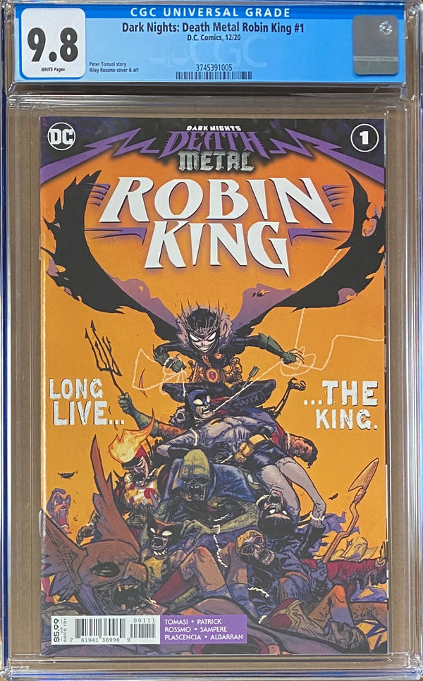 Dark Nights Death Metal: Robin King #1 CGC 9.8