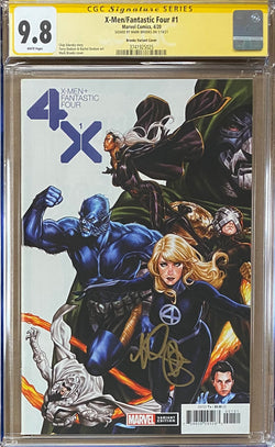 X-Men Fantastic Four #1 Brooks Connecting Variant CGC 9.8 SS