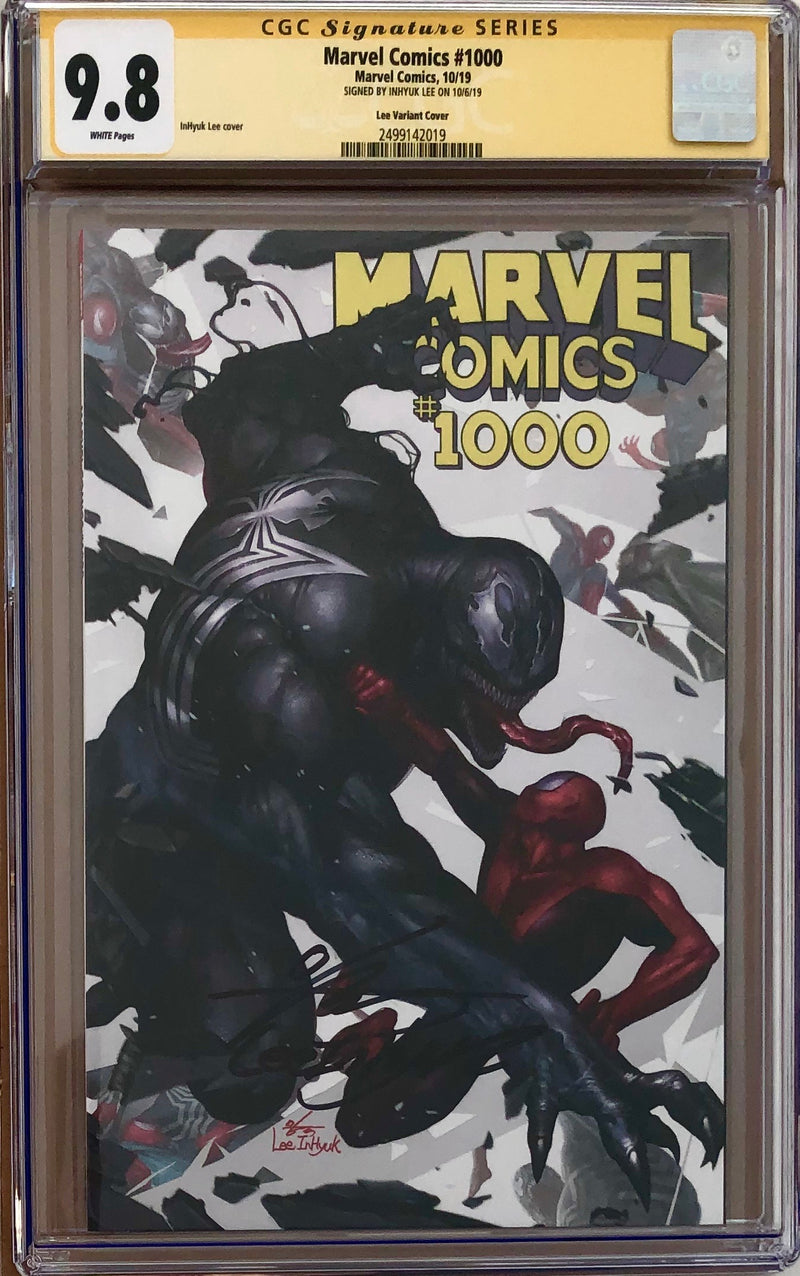 Marvel Comics #1000 InHyuk Lee Variant CGC 9.8 SS