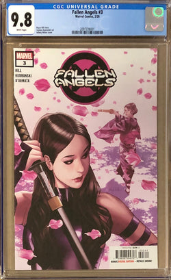 Fallen Angels #3 CGC 9.8 - Dawn of X!