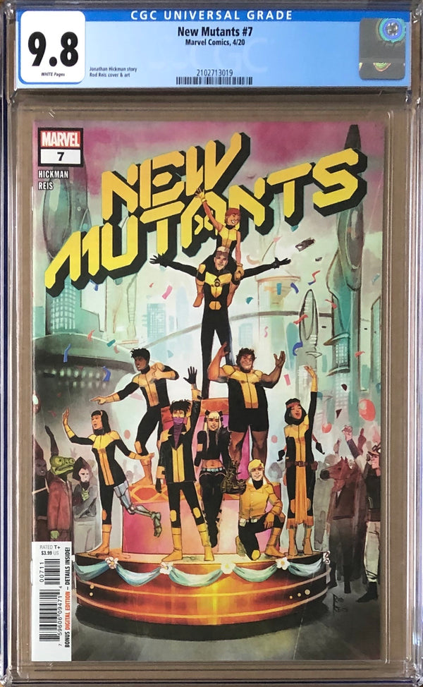 New Mutants #7 CGC 9.8 - Dawn of X!