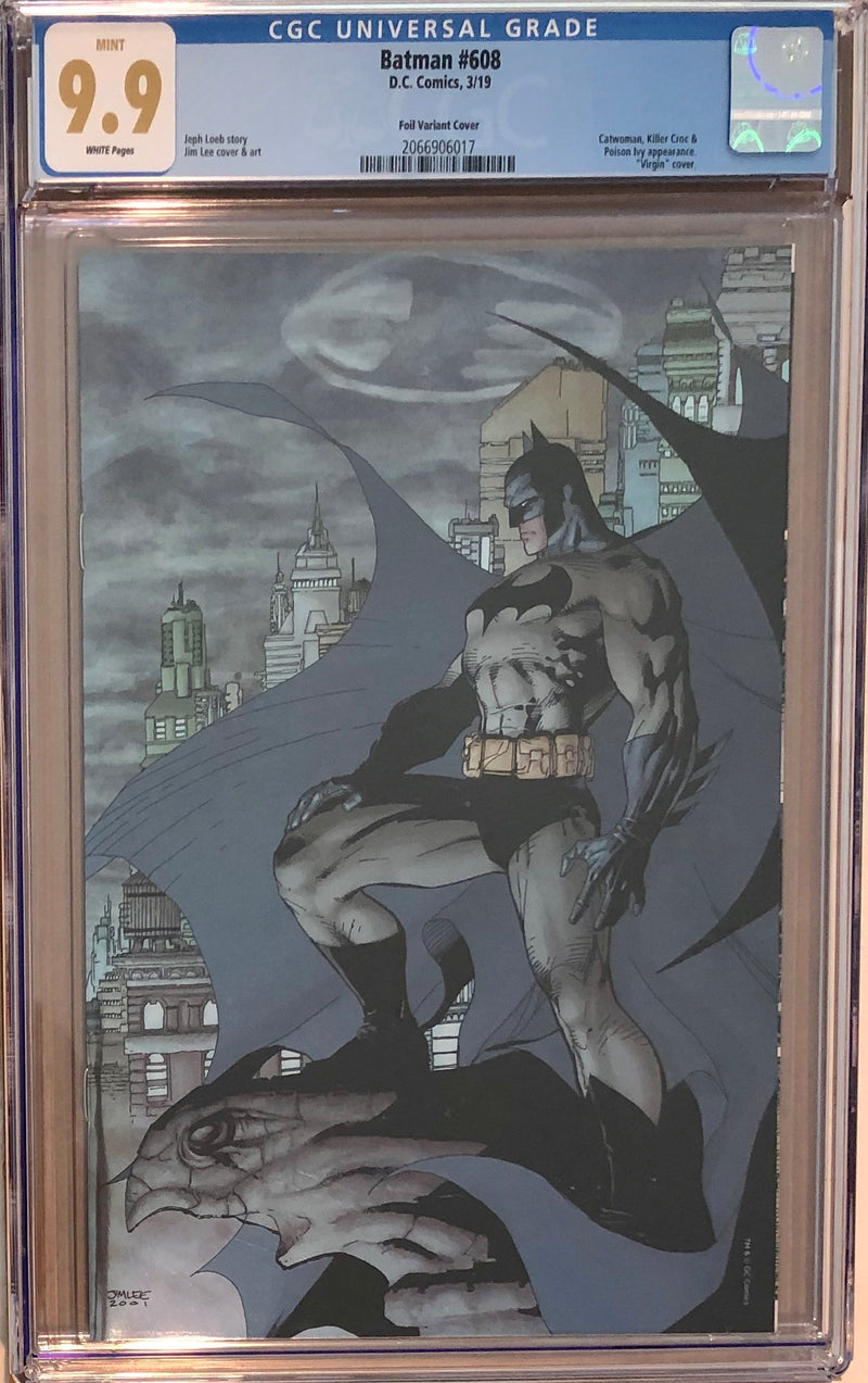Batman #608 Jim Lee Second Printing Fan Expo Exclusive CGC 9.9