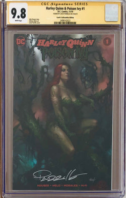 Harley Quinn & Poison Ivy #1 Parrillo NYCC Exclusive CGC 9.8 SS
