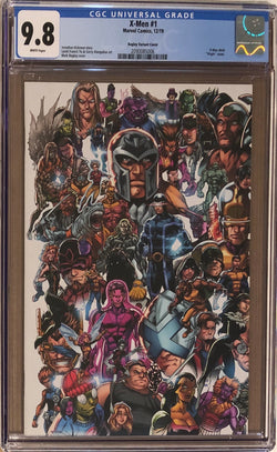 "X-Men #1 Bagley ""Every X-Men Ever"" Connecting Variant CGC 9.8 - Dawn of X!"