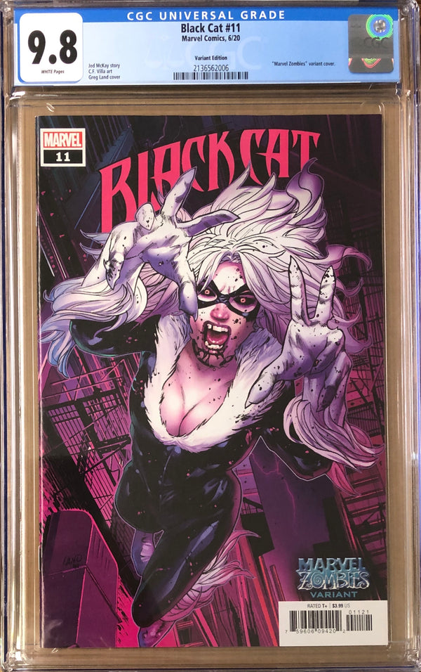 "Black Cat #11 ""Zombies"" Variant CGC 9.8"