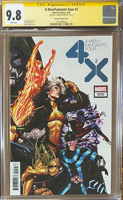 X-Men Fantastic Four #2 Brooks Connecting Variant CGC 9.8 SS