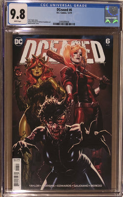 DCeased #6 CGC 9.8 - Regular Brooks Cover