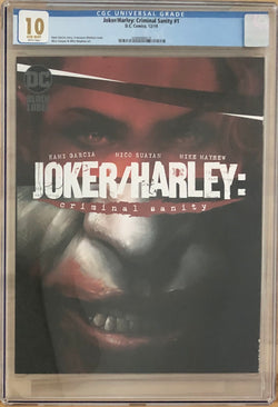 Joker/Harley: Criminal Sanity #1 Mattina Cover DC Black Label CGC 10.0