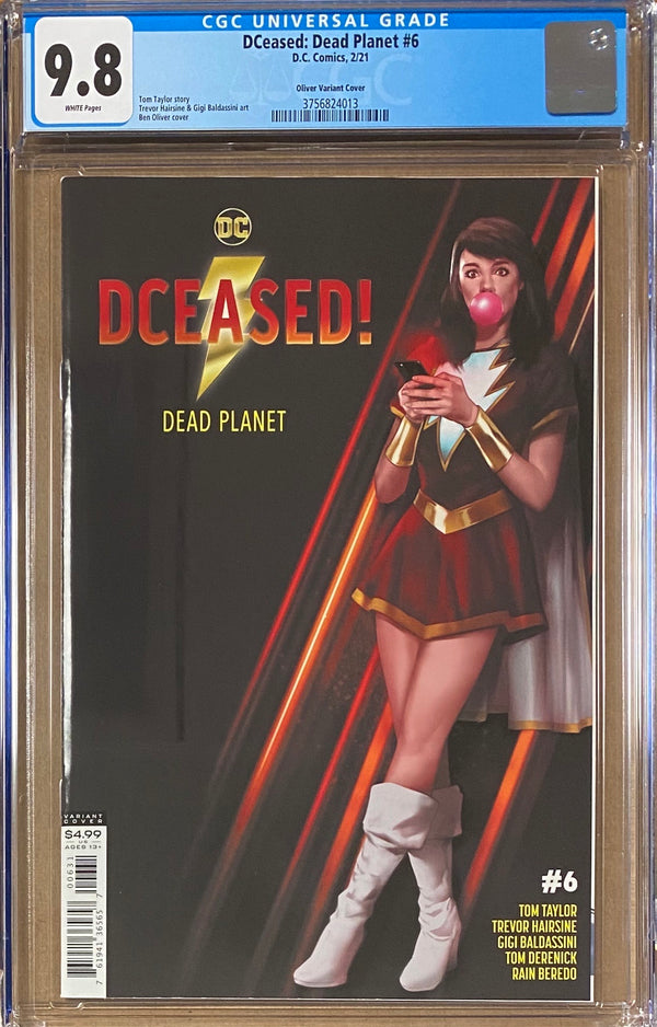 DCeased: Dead Planet #6 Oliver Movie Poster Variant CGC 9.8