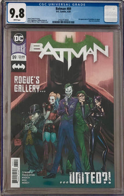 Batman #89 CGC 9.8 1st Appearance of Punchline in Cameo
