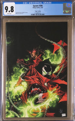 Spawn #306 Virgin C Variant CGC 9.8