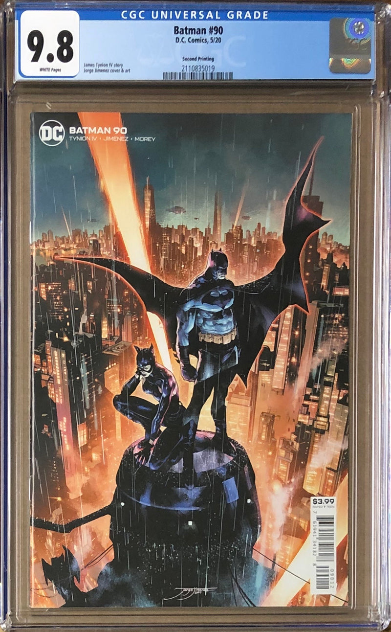 Batman #90 Second Printing CGC 9.8 1st Appearance of The Designer