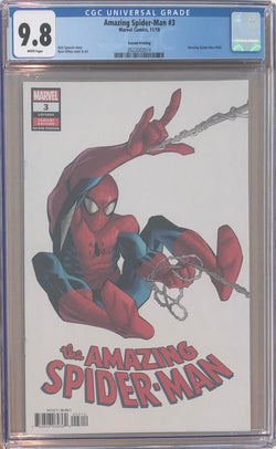 Amazing Spider-Man #3 Second Printing CGC 9.8