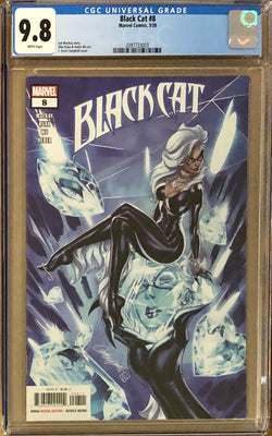 Black Cat #8 J. Scott Campbell CGC 9.8