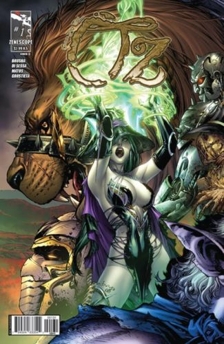 Grimm Fairy Tales Presents OZ #1 Cover C - EBAS