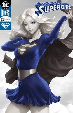 Supergirl 23 Silver Foil Exclusive