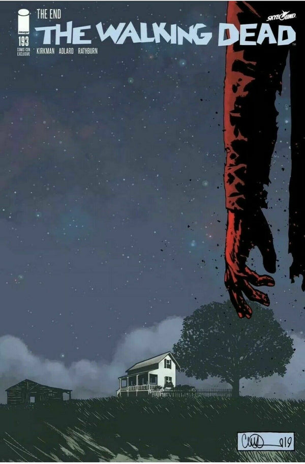 Walking Dead #193 SDCC Variant - Final Issue!