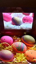 Easter Eggs Bath Bombs and Bath Fizzers pack of 5