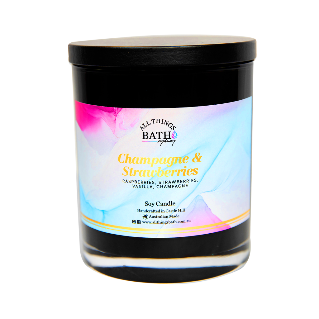 champagne-strawberries-soy-candle-XL-black-all-things-bath