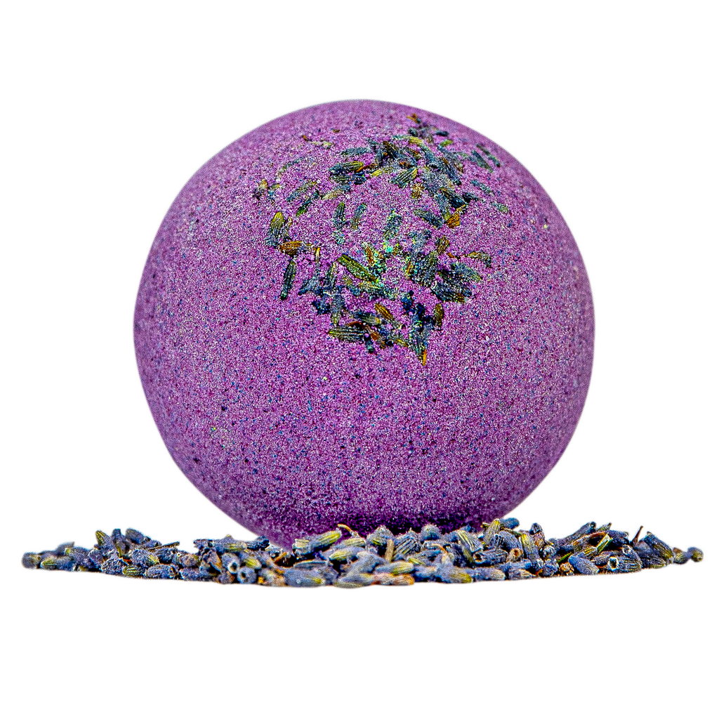 lavender-milky-bath-bomb-with-oats