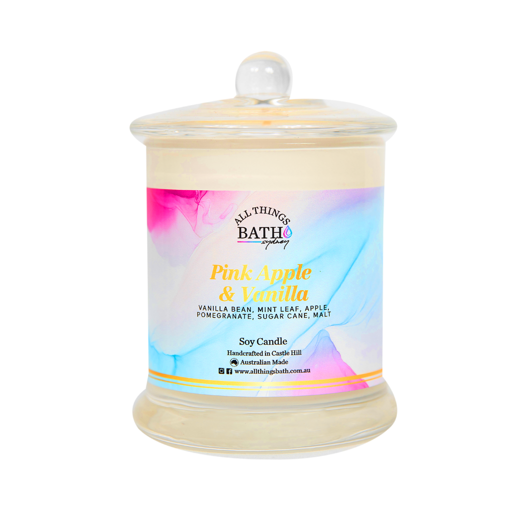 pink-apple-vanilla-soy-candle-large-all-things-bath
