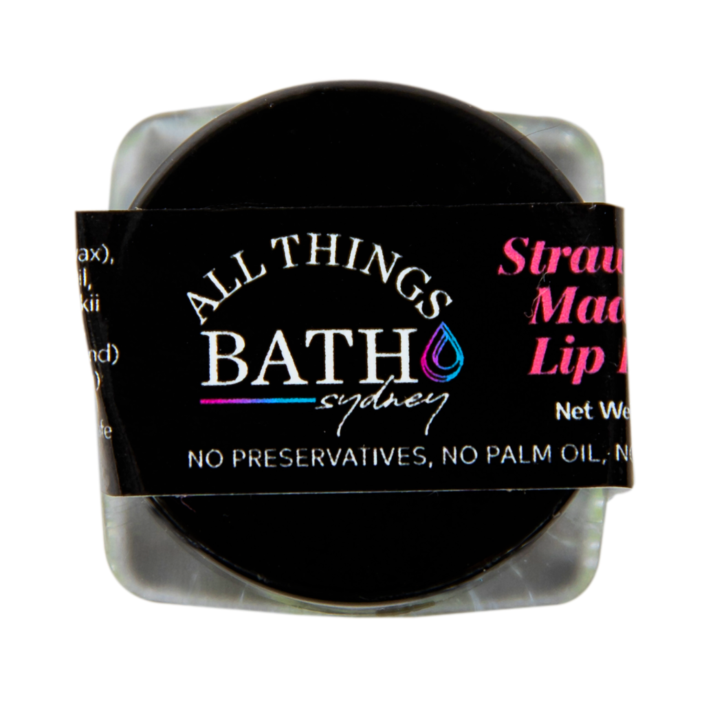 strawberry-madness-lip-balm-jar-all-things-bath
